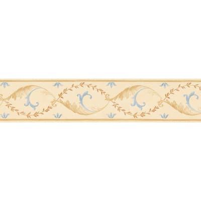 Bordo Foglie e rami beige 8.9 cm x 5 m