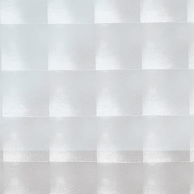 Pellicola adesiva per vetro Quadri trasparente 0.45x2 m