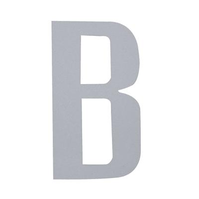 Lettera B adesivo, 15 x 10 cm
