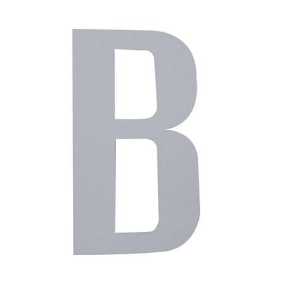 Lettera B adesivo, 5 x 3.5 cm