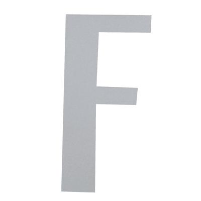 Lettera F adesivo, 5 x 3.5 cm