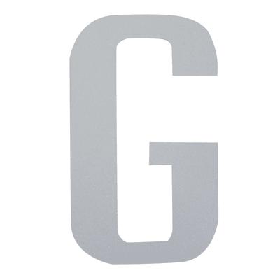 Lettera G adesivo, 10 x 6 cm