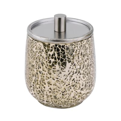 Porta cotone Glam in ceramica oro SENSEA