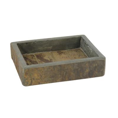 Porta sapone Heavy rock marrone