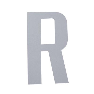 Lettera R adesivo, 15 x 10 cm
