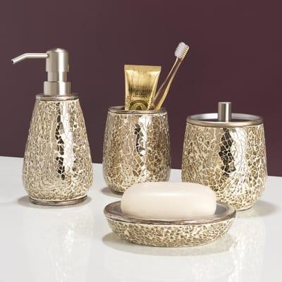 Dispenser sapone Glam oro