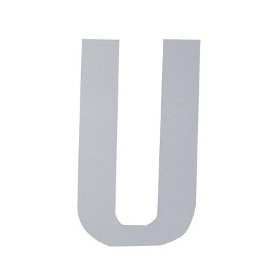 Lettera U adesivo, 7.5 x 5 cm