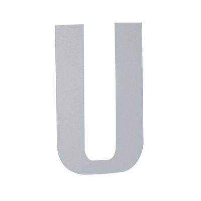 Lettera U adesivo, 5 x 3.5 cm