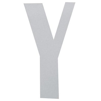Lettera Y adesivo, 10 x 6 cm