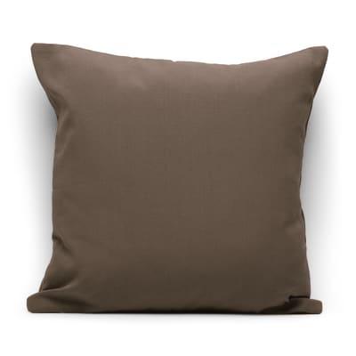 Fodera per cuscino Colorama marrone 40x40 cm