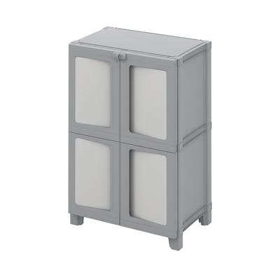 Armadio Modulize L 65 x P 40 x H 95 cm grigio
