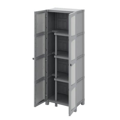 Armadio Modulize L 65 x P 40 x H 180 cm grigio