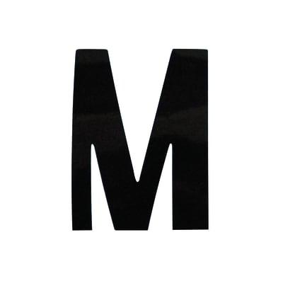 Lettera M adesivo, 3 x 2 cm