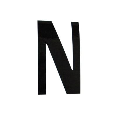 Lettera N adesivo, 5 x 3.5 cm
