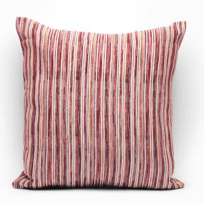Fodera per cuscino Raya rosso 60x60 cm