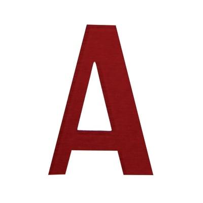 Lettera A adesivo, 3 x 2 cm