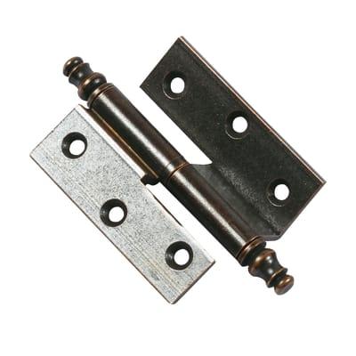 Cerniera L 50 x H 40 mm, ferro ,