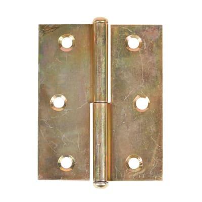 Cerniera per mobili chiusura per cofanetti 25 x 20 mm, ferro, 2 pezzi