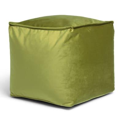 Pouf Viki verde 45x45cm