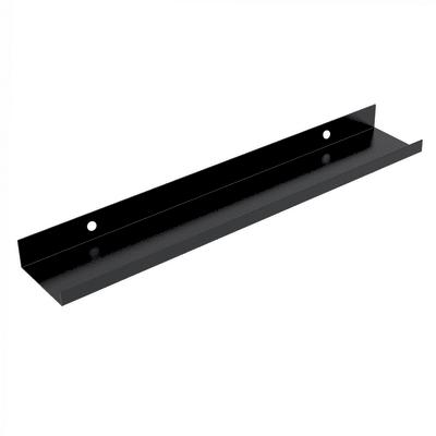 Mensola L 10 x P 10 cm, Sp 0.15 cm nero