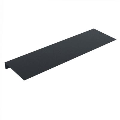 Mensola L 18 x P 18 cm, Sp 0.15 cm nero