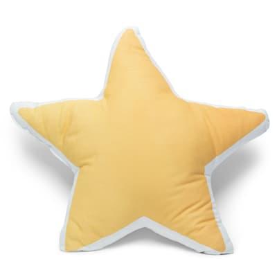 Cuscino Stella giallo 30x30 cm