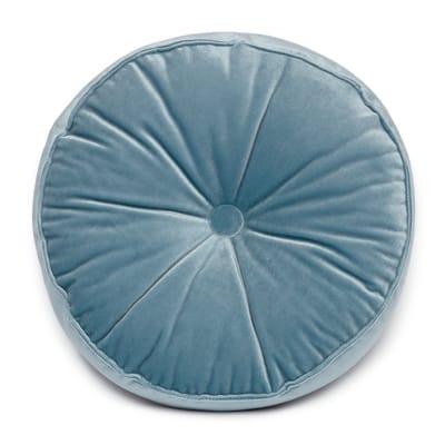 Cuscino Velluto azzurro 38x38 cm