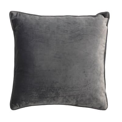 Cuscino Velluto grigio 40x40 cm
