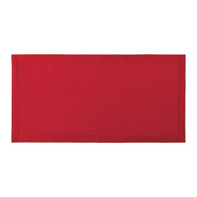 Tappeto Nevra rosso 50x110 cm