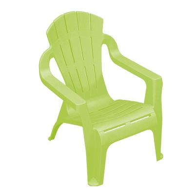 Sedia da giardino senza cuscino Mini selva per bambini colore verde lime