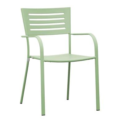 Sedia in ferro CHF 16V colore verde