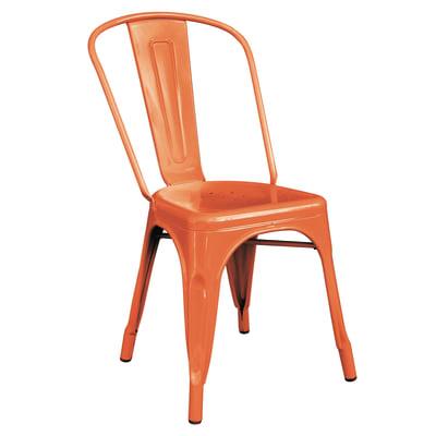 Sedia Industrial colore arancione