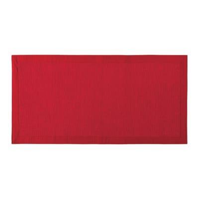 Tappeto Nevra in cotone, rosso, 55x180 cm