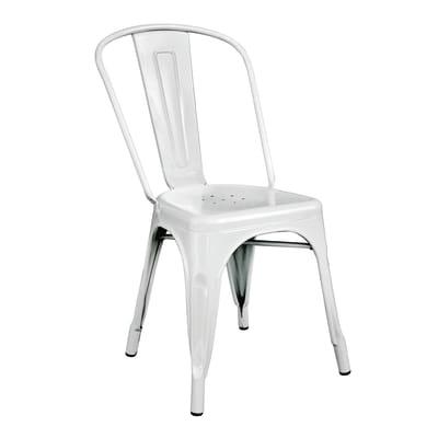 Sedia Industrial colore bianco prezzi e offerte online