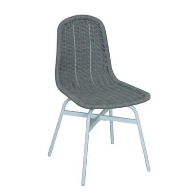 Sedia in acciaio Ischia colore grigio prezzi e offerte