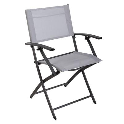 Sedia NATERIAL Denver colore grigio chiaro