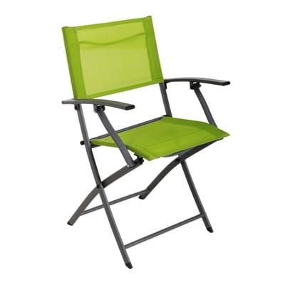 Sedia Denver NATERIAL colore verde