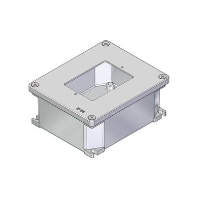Scatola rettangolare 140 x 115 x 60 mm