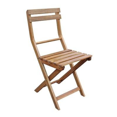 Sedie In Legno Prezzi.Sedia Da Giardino Senza Cuscino Pieghevole In Legno Naterial