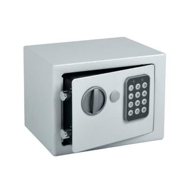 Cassaforte con codice elettronico da fissare o murare 20 x 15 x 15 cm