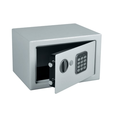 Cassaforte con codice elettronico da fissare o murare 28 x 18 x 20 cm