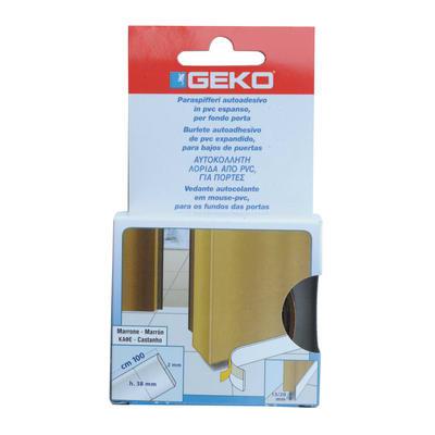 Guarnizione sottoporta Geko adesivo marrone