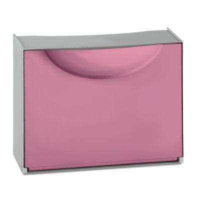 Scarpiera Harmony box 1 ante ribaltabile L 51 x H 39 x Sp 19 cm multicolor