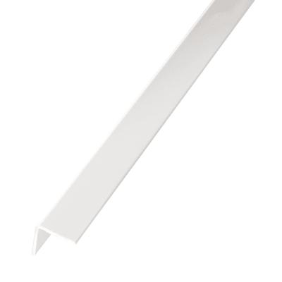 Profilo angolare simmetrico STANDERS in pvc 2.6 m x 1.95 cm bianco