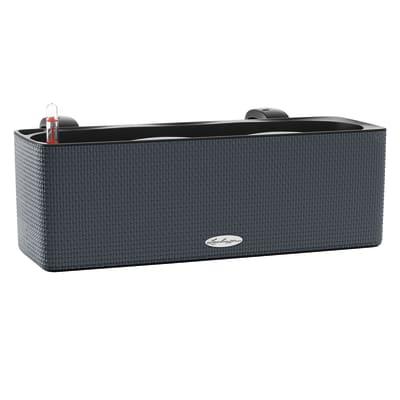 Cassetta portafiori Color LECHUZA in plastica grigio H 14 , L 40