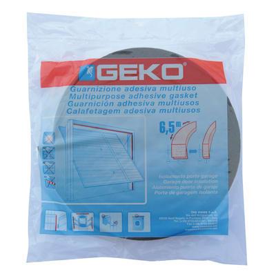 Guarnizione isolante per porta garage adesivo Geko grigio