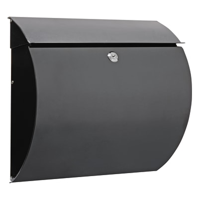 Cassetta postale ARREGUI formato Lettera, nero, L 37.5 x P 10.5 x H 33 cm
