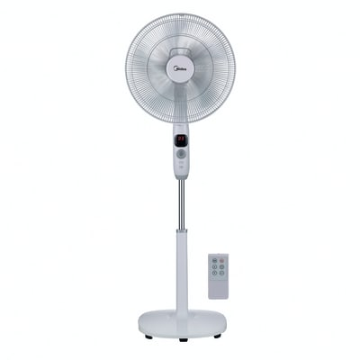 Ventilatore a piantana EQUATION FS40-16CR bianco 25 W Ø 40 cm