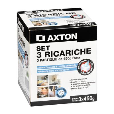Ricarica sali assorbiumidità AXTON neutro 1350