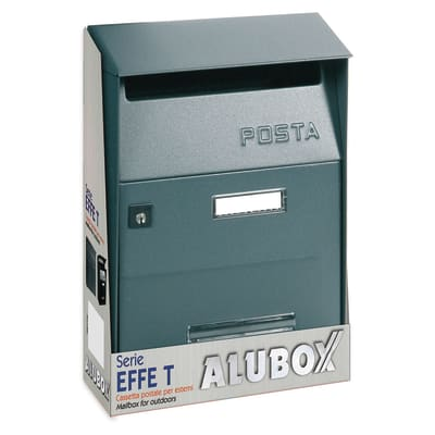Cassetta postale formato Lettera, ghisa, L 22 x P 11 x H 32.5 cm